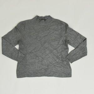 Christopher & Banks Regular XL Gray   Sweater Rayo
